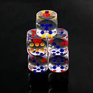 preiswerte Spielzeuge & Spiele-Würfel Würfel und Chips Spielzeuge Spaß Praktisch Multi-Funktions- Quadratisch Krystall PVC 10 Stücke Geschenk