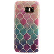 For Samsung Galaxy S7 Edge Mønster Etui Bagcover Etui Geometrisk mønster Blødt TPU for SamsungS7 edge S7 S6 edge S6 S5 Mini S5 S4 Mini S4