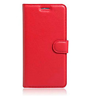 お買い得  携帯電話ケース-ケース 用途 AsusのZenFoneマックスZC550KL / AsusのZenfone 2レーザーZE550KL / Asus Asusケース カードホルダー / スタンド付き / フリップ フルボディーケース ソリッド ハード PUレザー のために Asus ZenFone Selfie ZD551KL / Asus ZenFone GO ZC500TG / Asus ZenFone GO