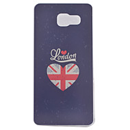 voordelige Galaxy A5(2016) Hoesjes / covers-hoesje Voor Samsung Galaxy Samsung Galaxy hoesje IMD Achterkant Hart Zacht TPU voor A9(2016) A7(2016) A5(2016) A3(2016)