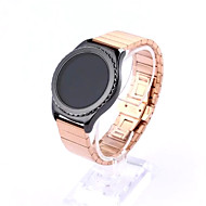 cheap Smartwatch Accessories-Watch Band for Gear S2 Classic Samsung Galaxy Classic Buckle Stainless Steel Wrist Strap