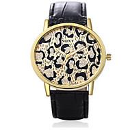 SOXY Женские Модные часы Кварцевый / Кожа Группа Леопард Cool Повседневная Черный
