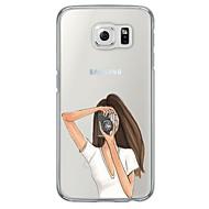 billige Galaxy S4 Etuier-For Samsung Galaxy S7 Edge Etuier Ultratyndt Gennemsigtig Bagcover Etui Andet Blødt TPU for SamsungS7 edge S7 S6 edge plus S6 edge S6 S5