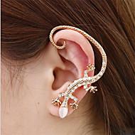お買い得  -女性用 耳の袖口  -  誕生石です. シルバー / ゴールデン 用途 日常 カジュアル