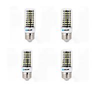 4 szt. Brelong 6w 550-600lm e14 / g9 / gu10 / e27 / b22 doprowadziło światło kukurydziane 80 smd 5733 ciepłe / chłodne białe ac 220-240 v