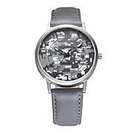 Χαμηλού Κόστους Επώνυμα ρολόγια-REBIRTH Ανδρικά Μοδάτο Ρολόι Ρολόι Καρπού Χαλαζίας / PU Μπάντα Καθημερινό καμουφλάζ Μαύρο Λευκή Γκρι
