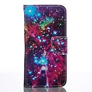 Недорогие Чехлы и кейсы для Galaxy S7 Edge-Кейс для Назначение SSamsung Galaxy Samsung Galaxy S7 Edge Бумажник для карт Кошелек со стендом Чехол Плитка Мягкий Кожа PU для S7 edge