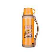 billige Rejsetilbehør-Rejse Rejseflaske og kop Rejseservice Rustfrit stål / Gummi Gul KUSHUN ™