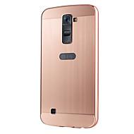 お買い得  携帯電話ケース-ケース 用途 その他 / LG / LG G4 LGケース メッキ仕上げ バックカバー ソリッド ハード アクリル のために LG V10 / LG G4スタイラス / LS770 / LG K10