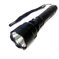 3 Linternas LED LED 500 lm 3 Modo Cree XR-E Q5 Super Ligero Camping/Senderismo/Cuevas De Uso Diario