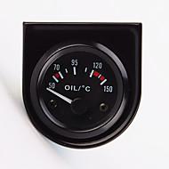 """baratos -2 """"52 milímetros 12v medidor de temperatura da temperatura do óleo ponteiro carro universal 40-120 branco levou"""