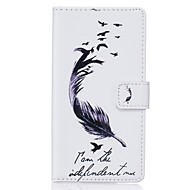Для Samsung Galaxy S7 Edge Кошелек / Бумажник для карт / со стендом / Флип / С узором Кейс для Чехол Кейс для Перо МягкийИскусственная