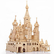 cheap Toy & Game-3D Puzzle / Jigsaw Puzzle / Wooden Puzzle Castle / Famous buildings DIY / Simulation Wooden 1 pcs Kid's / Adults' Gift
