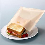 abordables Herramientas y Utensilios de Cocina-bolsas de tostadora reutilizables para sándwiches a la parrilla cocina cocinar bolsas de alimentos antiadherentes