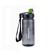 お買い得  -Naturehike ウォーターボトル シングル 携帯用 BPA無料 PP アウトドア にとって キャンピング&ハイキング ブラック