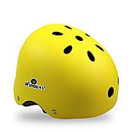 preiswerte -KUYOU Skateboardhelm Erwachsene Helm ASTM Bestätigung Sport Jugend für Radsport Skateboard Inline-Skates Schwarz Orange Gelb Blau Rosa
