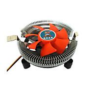 abordables Ventiladores-ventiladores de bajo ruido de refrigeración de la CPU de la computadora