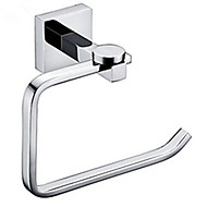 お買い得  浴室用小物-トイレットペーパーホルダートイレットペーパーホルダー浴室の付属品クローム壁に取り付けられ、現代的な真鍮