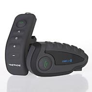 お買い得  -vnetphone v8 1ピース1200メートルオートバイヘルメットブルートゥースインターホン5ライダーnfc