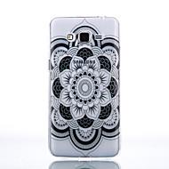Для Кейс для  Samsung Galaxy Прозрачный / С узором Кейс для Задняя крышка Кейс для Один цвет Мягкий TPU SamsungJ7 (2016) / J5 (2016) / J5