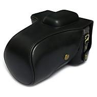 SLR-バッグ用-ワンショルダー-防塵-ブラック / コーヒー / ブラウン