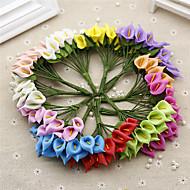 abordables Flores Artificiales-Flores Artificiales 1 Rama Ramos de Flores para Boda Lirios Flor de Mesa