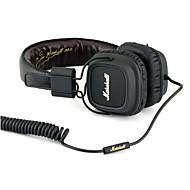 お買い得  -Beevo BV-HM740 耳に ヘアバンド ケーブル ヘッドホン 動的 プラスチック 携帯電話 イヤホン ハイファイ ボリュームコントロール付き マイク付き ヘッドセット