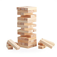 cheap Game Toys-Board Game Stacking Game Wooden Blocks Mini Wooden Classic Boys' Girls' Toy Gift