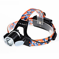 U'King ZQ-X824 Headlamps Headlamp Straps Headlight LED 6000LM lm 4 Mode Cree XM-L T6 Rechargeable Compact Size Easy Carrying High Power