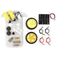 お買い得  Arduino 用アクセサリー-スマート車のシャーシ追跡車ロボットカーのスピードシャーシ
