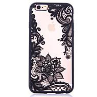 מגן עבור Apple iPhone 7 / iPhone 7 Plus תבנית כיסוי אחורי פרח קשיח אקרילי ל iPhone 7 Plus / iPhone 7 / iPhone 6s Plus