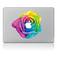 halpa Mac tarrakalvot-1 kpl Naarmunkestävä Kukka Läpinäkyvä muovi Tarrakalvo Kuviointi VartenMacBook Pro 15'' with Retina MacBook Pro 15 '' MacBook Pro 13''