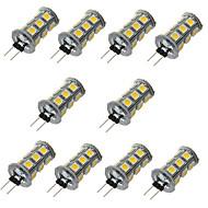 billige LED-lamper med G-sokkel-G4 LED-lamper med G-sokkel T 18 leds SMD 5050 Dekorativ Varm hvid Kold hvid 200-300lm 3000/6000K Jævnstrøm 12V