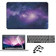 お買い得  MacBook 用ケース/バッグ/スリーブ-MacBook ケース フルボディケース スカイ / カートゥン プラスチック のために MacBook Air 11インチ / MacBook Pro Retinaディスプレイ15インチ / MacBook Pro Retinaディスプレイ13インチ
