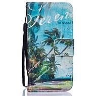 Для Кейс для  Samsung Galaxy Кошелек / Бумажник для карт / со стендом Кейс для Чехол Кейс для дерево Твердый Искусственная кожа SamsungJ5