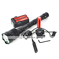 LED Flashlights / Torch LED 6000 lm 1 Mode Cree XM-L T6 Suitable for Vehicles for Camping/Hiking/Caving Cycling/Bike Traveling