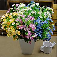 billige -1 1 Branch Polyester Others Bordblomst Kunstige blomster 30cm