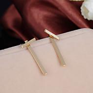 Недорогие $0.99 Модное ювелирное украшение-Серьги-гвоздики - Простой стиль, Мода Золотой / Серебряный Назначение Свадьба Для вечеринок Повседневные