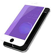 Недорогие Защитные плёнки для экрана iPhone-Защитная плёнка для экрана Apple для iPhone 7 Закаленное стекло 1 ед. Защитная пленка для экрана Взрывозащищенный 2.5D закругленные углы