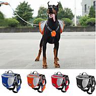 Pies Przewoźnicy i plecaki turystyczne pakiet dla psów Zwierzęta domowe Torby Wodoodporny Przenośny Orange Czerwony Niebieski Black