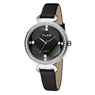 Недорогие Фирменные часы-Vilam Жен. Наручные часы Защита от влаги Кожа Группа Роскошь / Блестящие / Мода Белый