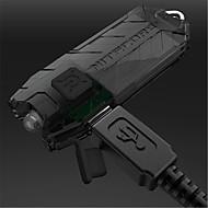 お買い得  -45 lm キーホルダー型フラッシュライト LED 2 モード - Nitecore TUBE - 充電式 / 調光可能 / 小型