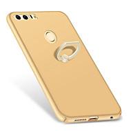 Для со стендом Кольца-держатели Матовое Кейс для Задняя крышка Кейс для Один цвет Твердый PC для HuaweiHuawei P10 Plus Huawei P10 Huawei