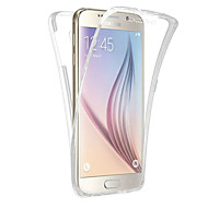 For Gennemsigtig Etui Heldækkende Etui Helfarve Blødt TPU for Samsung Note 5 Note 4 Note 3