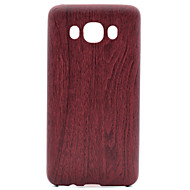 for Samsung Galaxy J1 J3 Wood Pattern PU Skinning Soft Phone Case for Samsung Galaxy J1 J3 J5 J7 J510 J710 G360 G530