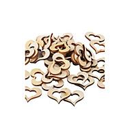 나무 친환경 원재 웨딩 장식-50조각/세트 봄 여름 가을 겨울 비 맞춤 상품