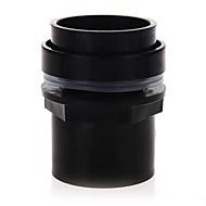 abordables Radiadores y Termómetros de Acuario-negro de tanque acuario conector de plástico de PVC de 50 mm de accesorios a prueba de agua