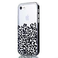 Недорогие Кейсы для iPhone 8 Plus-Кейс для Назначение Apple iPhone 8 iPhone 8 Plus Кейс для iPhone 5 iPhone 6 iPhone 7 Прозрачный С узором Кейс на заднюю панель