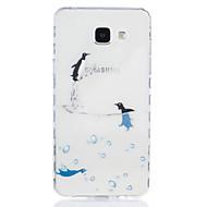 Χαμηλού Κόστους Galaxy A3(2016) Θήκες / Καλύμματα-tok Για Samsung Galaxy A5(2016) A3(2016) Διαφανής Με σχέδια Πίσω Κάλυμμα Ζώο Μαλακή TPU για A5(2016) A3(2016)