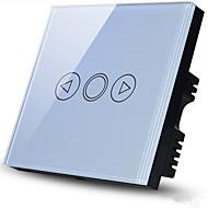abordables Piezas de Bricolaje y Manualidades-polo interruptor de pared promesa de conmutador regulador conectores en el panel de oro champagne